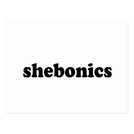 SHEBONICS POSTCARDS