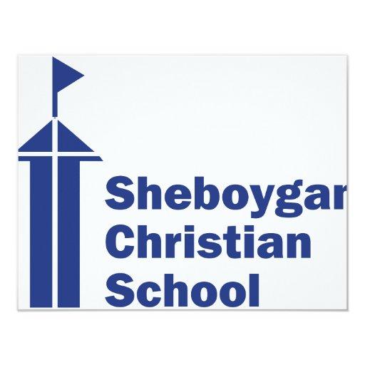 Sheboygan Christian School 4.25x5.5 Paper Invitation Card