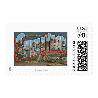 Sheboygan, Wisconsin (Indians # 1) Postage