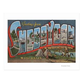 Sheboygan, Wisconsin (Indians # 1) Postcard