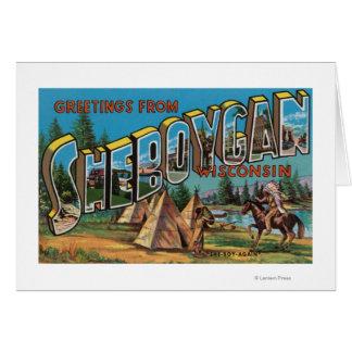 Sheboygan, Wisconsin (Indians # 2) Card