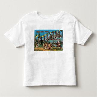 Sheboygan, Wisconsin (Indians # 2) Toddler T-shirt