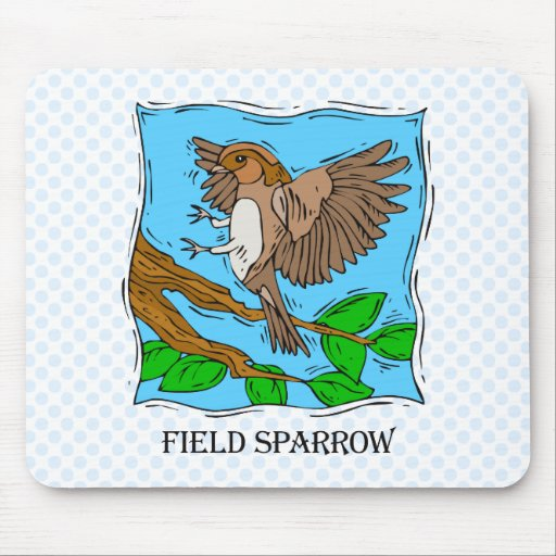 Shecha Sparrow Mouse Pad
