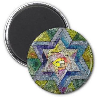 Shechina 2 Inch Round Magnet