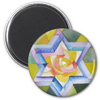 Shechinah 2 Inch Round Magnet