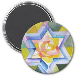 Shechinah 3 Inch Round Magnet