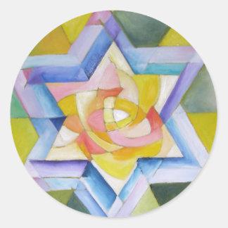 Shechinah Classic Round Sticker