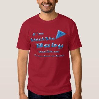 SHECKSHE.COM -  I'm SheckShe* Baby  - Basic Dark T Tee Shirt
