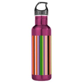 Shecky stripe water bottle