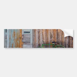 shed car bumper sticker