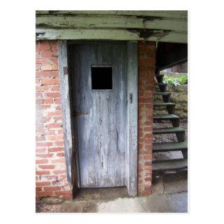 Shed Door Postcard