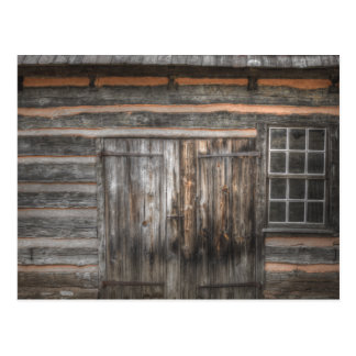 Shed Door Postcard