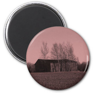 Shed In Trees Magnet