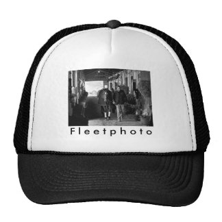 Shed Row at Belmont Park Trucker Hat