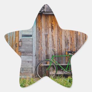shed star sticker