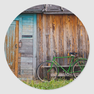 shed classic round sticker