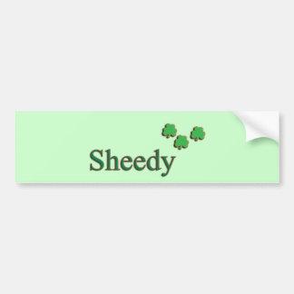 Sheedy Family Bumper Sticker