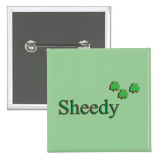 Sheedy Family Pinback Buttons