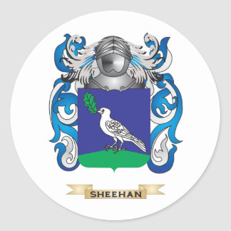 Sheehan Coat of Arms (Family Crest) Stickers