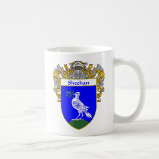 Sheehan Coat of Arms (Mantled) Coffee Mug