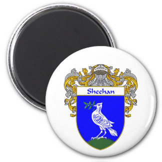 Sheehan Coat of Arms (Mantled) Magnet