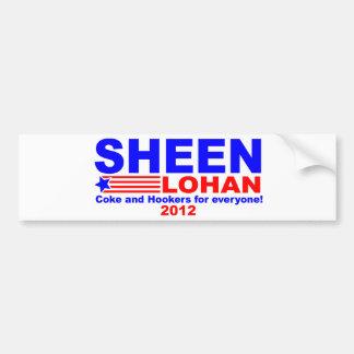 Sheen & Lohan Bumper Sticker