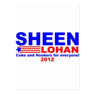 Sheen & Lohan Postcard