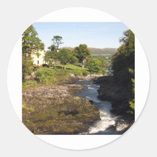 Sheen River Round Sticker