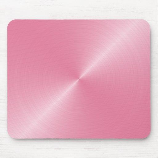 Sheen rosado Mousepad Alfombrillas De Ratón