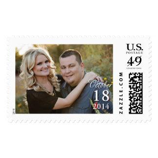 Sheena and Jeffery Kowalski Wedding Stamp Large