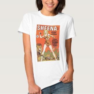 Sheena: Cómic de la mujer de la selva Remera