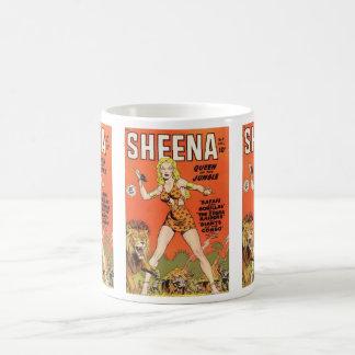 Sheena: Cómic de la mujer de la selva Taza