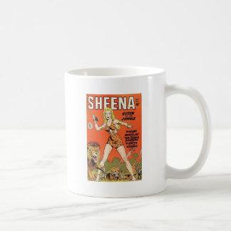 Sheena Jungle Warrior Coffee Mug