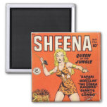 Sheena: Jungle Woman Comic book Magnets