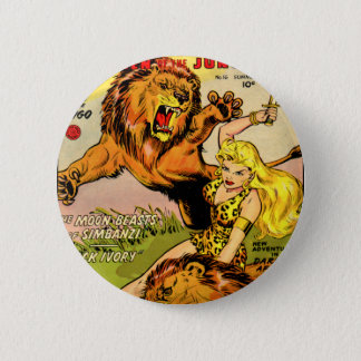 Sheena Queen of the Jungle Button