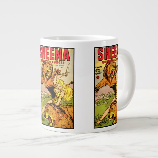 Sheena Queen of the Jungle Large Coffee Mug