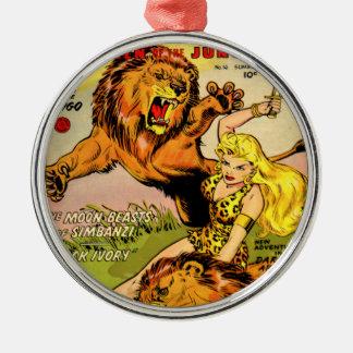 Sheena Queen of the Jungle Metal Ornament