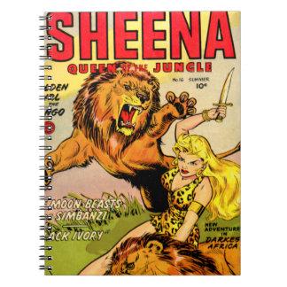 Sheena Queen of the Jungle Notebook