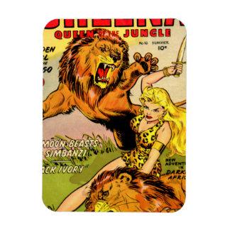 Sheena Queen of the Jungle Rectangular Magnet