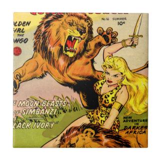Sheena Queen of the Jungle Tile