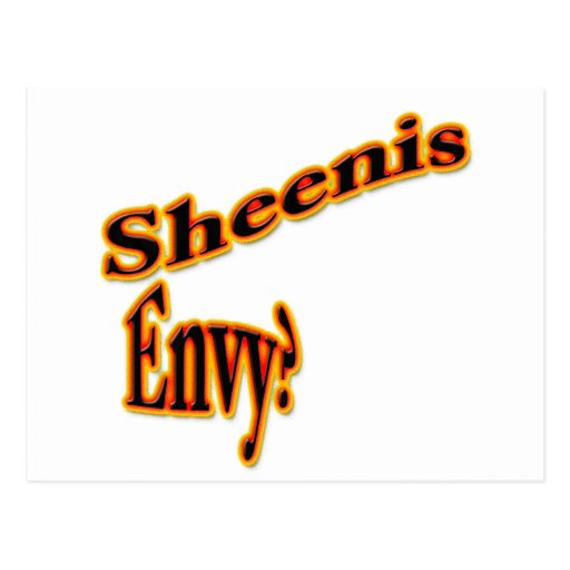 Sheenis Envy? Postcard