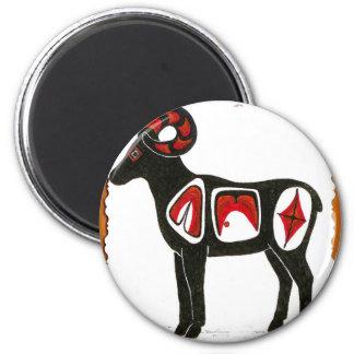 sheep 001 fridge magnet