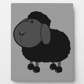 sheep-312776 ,BLACK SHEEP OF THE FAMILY, CARTOON C Plaque