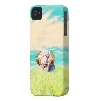 sheep a blue sky iPhone 4 Case-Mate case
