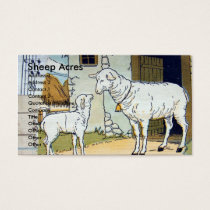 Sheep Acres Business Card