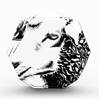 sheep acrylic award