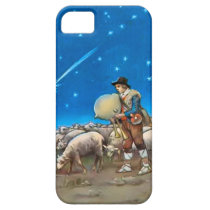 Sheep and shepherd iPhone SE/5/5s case