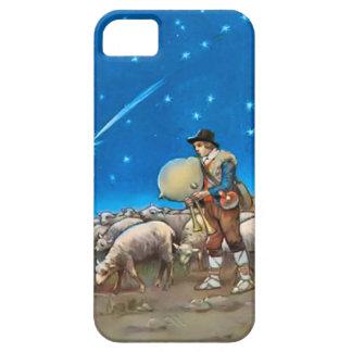 Sheep and shepherd iPhone 5 covers