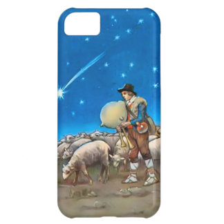 Sheep and shepherd iPhone 5C cover