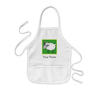 Sheep Kids' Apron